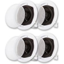 Acoustic Audio R191 In Ceiling Speaker 2 Pair Pack 2 Way Home 800 Watt R191-2PR