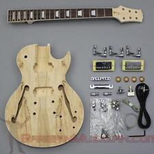 Bargain Musician - GK-012-S - DIY Unfinished Project Luthier Guitar Kit