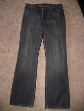 POLO RALPH LAUREN Classic KELLY Boot Cut Jeans - 8 X 34 - EUC