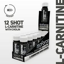 ISOFORCE - L-Carnitin 3000 Liquid SHOT + Cholin /12-er BOX
