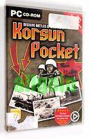 Gioco PC CD-ROM DECISIVE BATTLES OF WWII VOL. 2 KORSUN POCKET Matrix Games 2003
