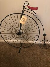 REDUCED-Penny Farthing Bicycle Wall Decoration By Artisan House, Inc. & C. Jere