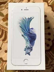 Apple iPhone 6s 128GB Silver (Unlocked) - Please See Description
