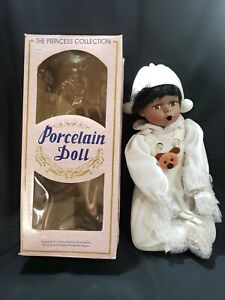 """The Princess Collection, Doll, Porcelain, African  American, Boy, """"Drake"""""""