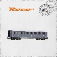 ROCO 64982 carrozza passeggeri centoporte FS grigio ardesia 1° e 2° cl. Ep. IV