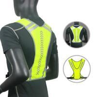 High Visibility Reflective Cycling Vest Bicycle Jackets Wind Coat Waistcoat Bike