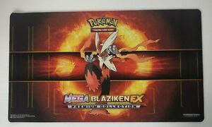 Mega Blaziken EX Premium Collection Playmat Pokemon Trading Card Game Play Mat