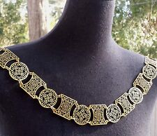 Medieval Renaissance Tudor Elizabethan SCA Livery Chain Collar of Office State