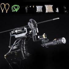 High Velocity Laser Target Hunting Slingshot Fishing Catapult Archery Arrow Rest