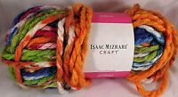 Isaac Mizrahi Craft Yarn Stuyvesant Super Bulky Knitting Crochet Variegated