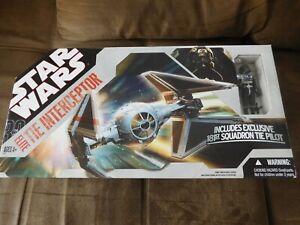 STAR WARS 30th: Elite Tie Interceptor incl. Pilot von 2007 NEU/OVP RAR