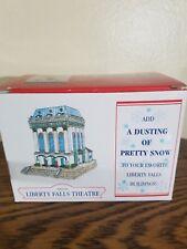 Liberty Falls Liberty Falls Theatre Ah208 Village With Snow