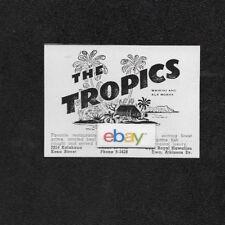 weiß 1940 Postkarte Internationale Antiq. & Kunst Naniloa Hotel Auf Hilo Bay Hawaii Lobby B