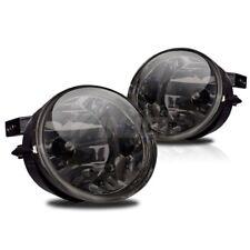 For Nissan Armada Titan Smoke Lens Chrome Housing Replacement Fog Lights Lamps
