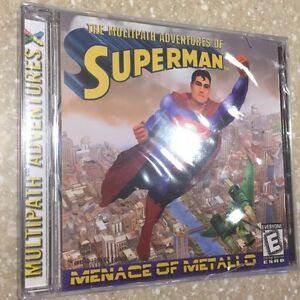 The Multipath Adventures of Superman: Menace of Metallo PC game NEW SEALED