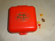 Polly Pocket mini Polly's Town House 100 % komplett complete Hund Katze