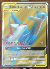 Pokemon Card  LATIAS & LATIOS GX  Ultra Rare FULL ART 169/181  TEAM UP *MINT*