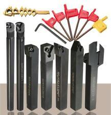 7pcs 12mm Utensili per tornio con inserti metallo duro Tornitura Portautensili