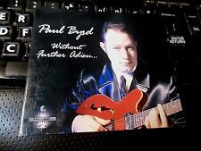 Without Further Adieu by Paul Byrd (CD 2003 BlueStone) blues