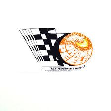 ORANGE PEELER HIGH PERFORMANCE MUFFLER DRAG RACE HOT RAT ROD DECAL VINTAGE LOOK