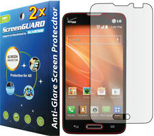 2x Anti-Glare Matte LCD Screen Protector LG Optimus Exceed II US450 Realm LS620