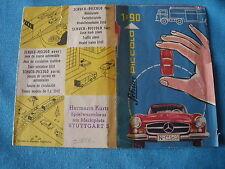 890 I SCHUCO PICCOLO W GERMANY 1959 DEPLIANT PUB  PAPIER 1/90 MAGIRUS 16 * 12 CM