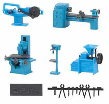 FALLER Metalworking Machinery Model Kit III HO Gauge 180456
