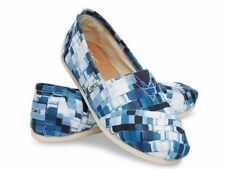 bc792396b0b Toms Classic Ink Satin Paint Print Womens Shoes 10004949 Women Size 6-9