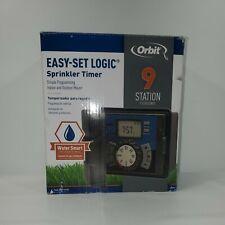 Orbit 27999 Easy-Set Logic Sprinkler Timer 9 Station