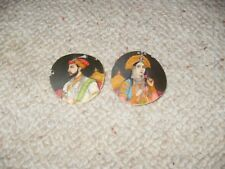 Two antique Asian miniature paintings