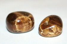 ET-2 Root beer Calcite Tumbled Polished Stones- Crystal Healing -31 grams