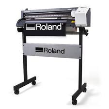 "24"" Roland GS-24 Vinyl Cutter / Cutting Plotter CAMM-1 Professional + FREE Stand"