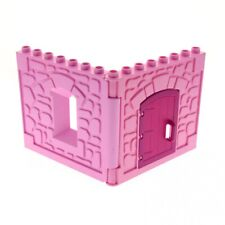 LEGO TURRET x10 PINK friends disney princess wall panels castle tower house