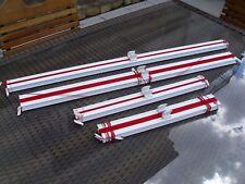 Plissee - Marke Teba (Luxaflex für Fenster, Sonnenschutz - Rot - 4 Stück