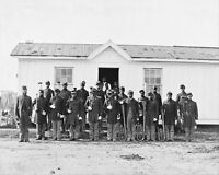 U.S. COLORED INFANTRY BAND CIVIL WAR 1865 16x20 SILVER HALIDE PHOTO PRINT