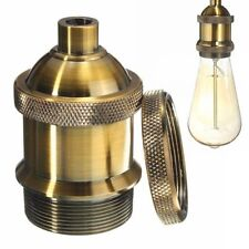 Practical Vintage Aluminum Lamp Holder Screw Thread Light Socket Pendant Light-/