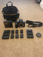 Sony Alpha A7R II 42.4 MP Mirrorless Digital Camera + Extras