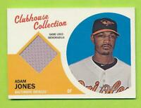 2012 Topps Heritage Clubhouse Collection Jersey - Adam Jones (CCR-AJ) Orioles