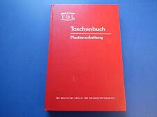 DDR Fachbuch-TGL Taschenbuch Plastverarbeitung: Prüfung von Plastformteilen HC