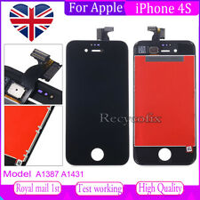 For iPhone 4S Screen Replacement LCD Touch Display Digitizer Assembly Black
