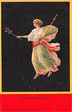 B94011 bacchante danseuse de  pompei litho italy