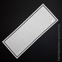 PLAUENER SPITZE ® Tischdeckchen TISCHLÄUFER Deckchen DEKO Tischdecke Decke 27x55