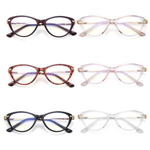 Retro Blue Light Blocking Glasses Computer Gaming Eyeglasses for Women Men