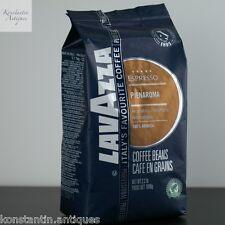 Lavazza pienaroma granos de café 1KG 100% arábica.