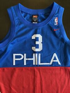 Nike Phila Allen Iverson Youth Throwback Jersey