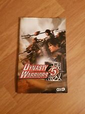 Dynasty Warriors 5 Sony Playstation 2 Game Manual Only