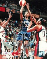Chamique Holdsclaw Signed 8x10 photo WNBA PSA/DNA Autographed