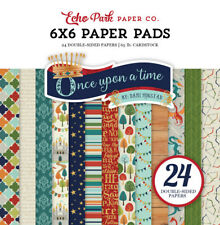 "Echo Park ""Once Upon A Time"" 6x6 Paper Pad Prince Boy 24 Double-sided Sheets"