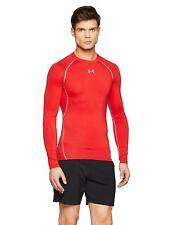 Under Armour HG T-shirt manches longues de Compression Homme Red/steel FR M (t