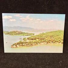 Vintage Post Card A Bird's Eye View Of Yuantouzhu Tortoise Head Garden China